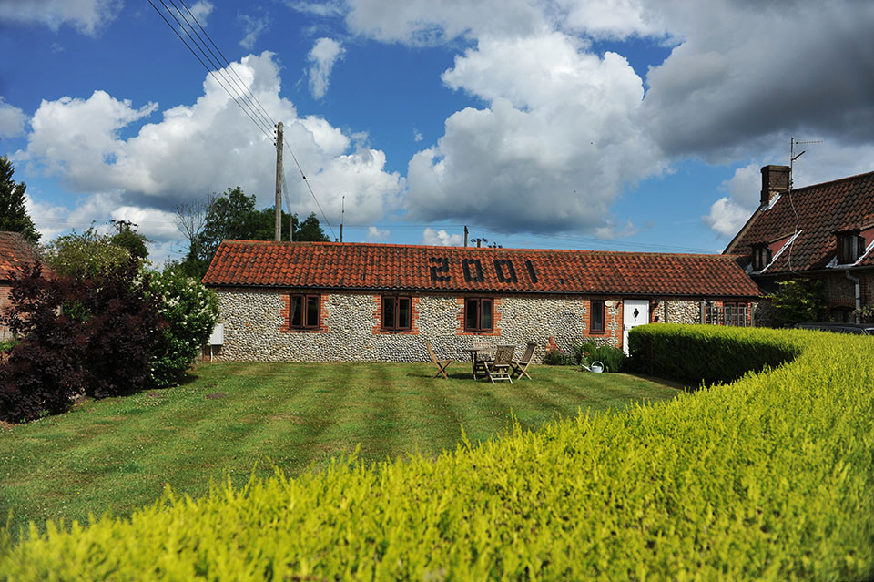 The Bolt Hole holiday accommodation, Rookery Farm, Norfolk