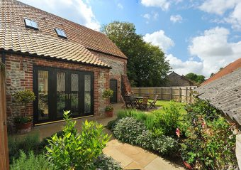 Chaff House holiday accommodation, Rookery Farm, Norfolk