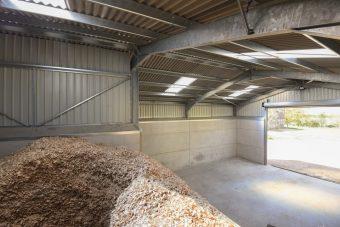 Rookery Farm Biomass boiler - wood pellets