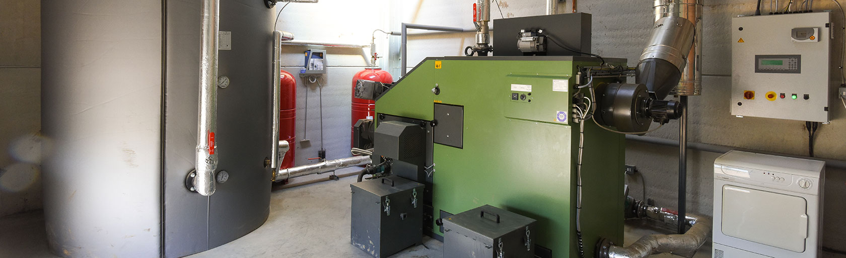 The Rookery Farm Biomass Boiler