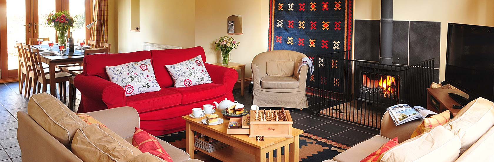 Chaff House, Rookery Farm Holiday Accommodation, north Norfolk