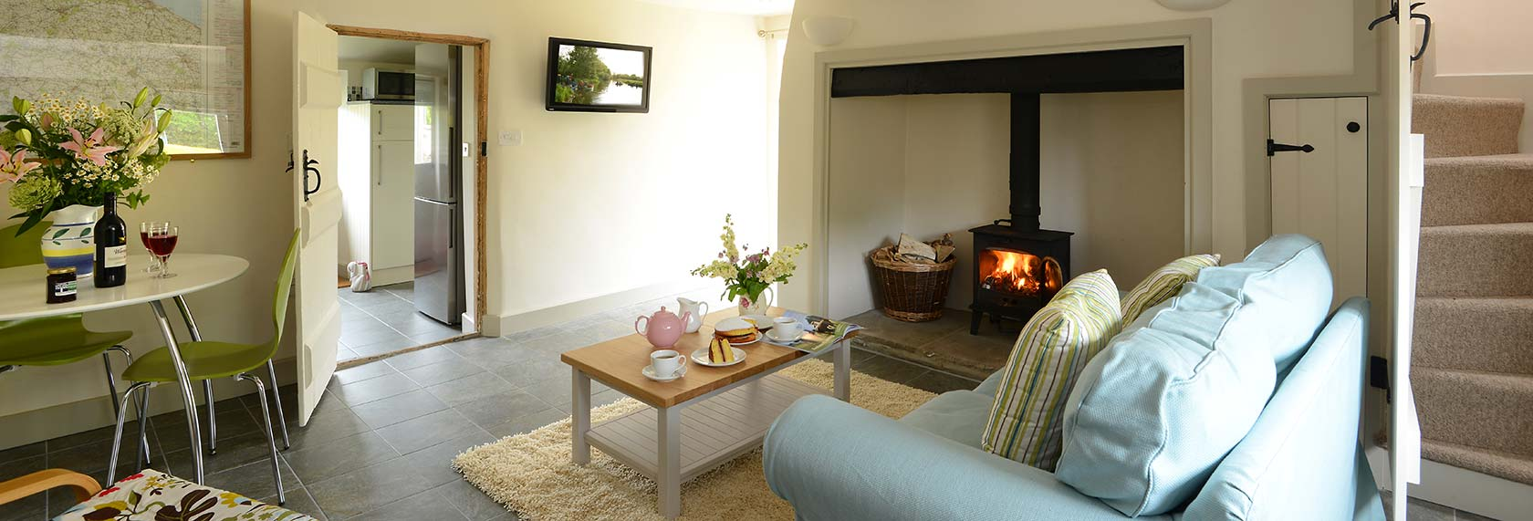 Garden Cottage, Rookery Farm Holiday Accommodation, north Norfolk